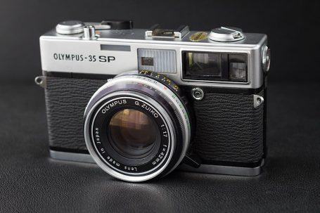 Appareil photo télémétrique Olympus 35 SP