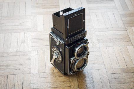 Appareil photo moyen format TLR 6x6 Rolleiflex