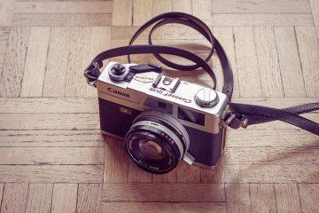 Appareil photo argentique télémétrique Canonet QL 19