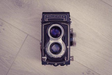 Appareil 6x6 moyen format Rolleiflex T