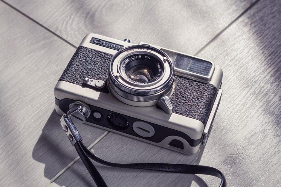 Appareil photo demi format Canon Demi EE 17