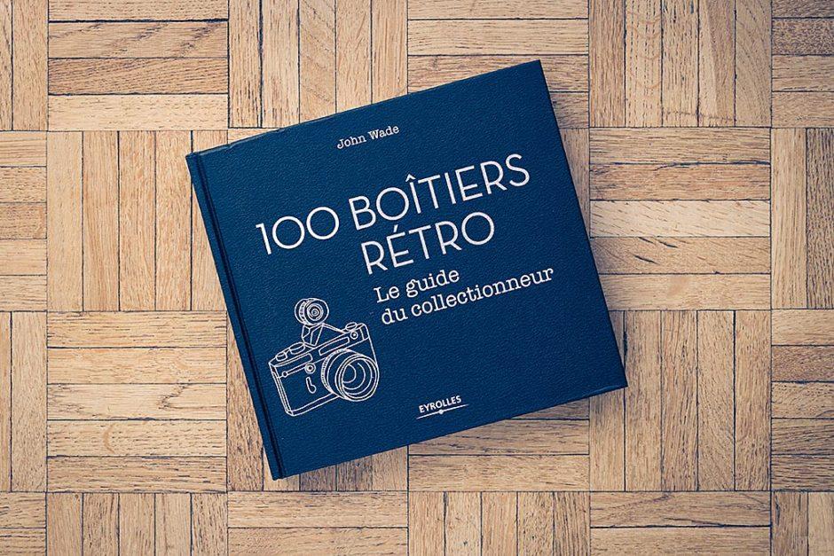 """Livre """"100 boitiers rétro, le guide du collectionneur"""", de John Wade"""