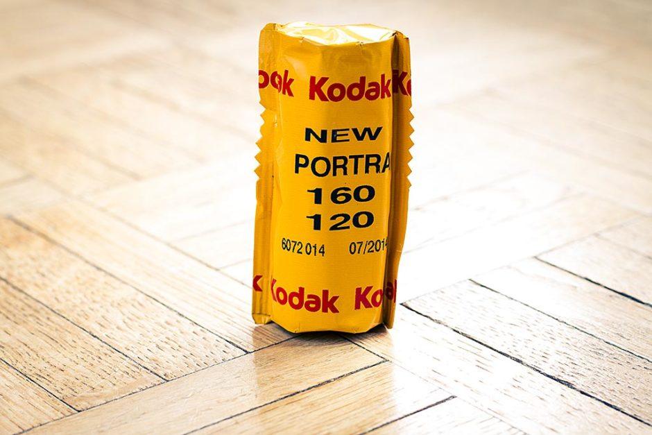 Film Portra 160 de Kodak