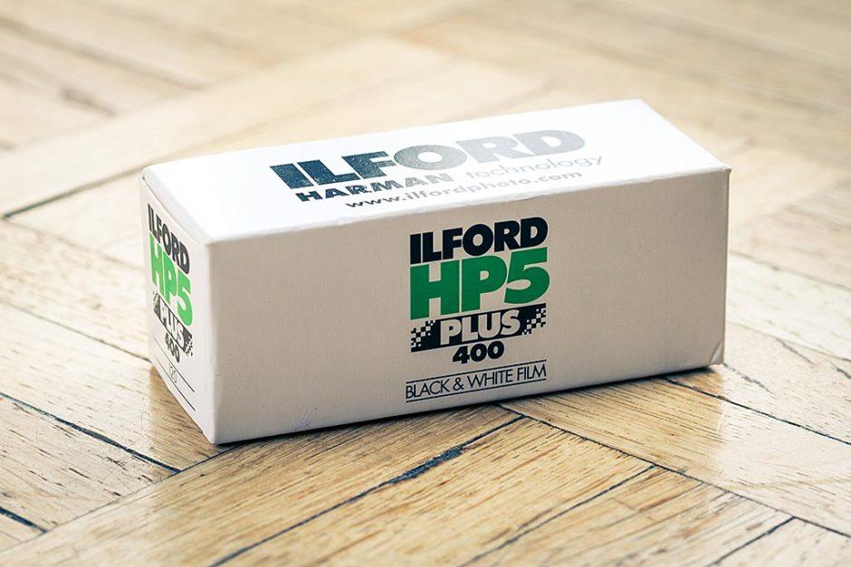 Film Ilford HP5 Plus Noir et Blanc