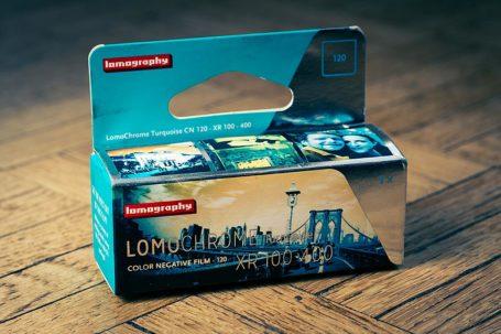 Film LomoChrome Turquoise de Lomography