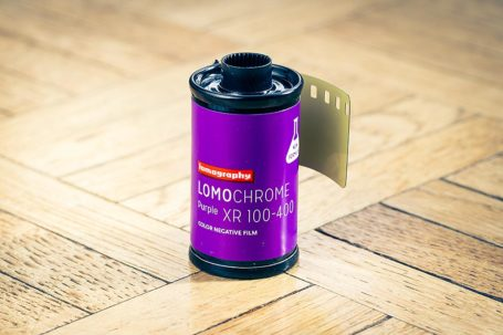 Film LomoChrome Purple de Lomography