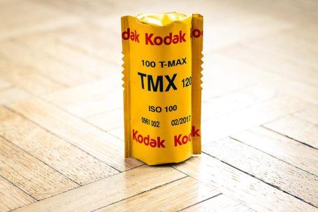 Film 100 Tmax de Kodak