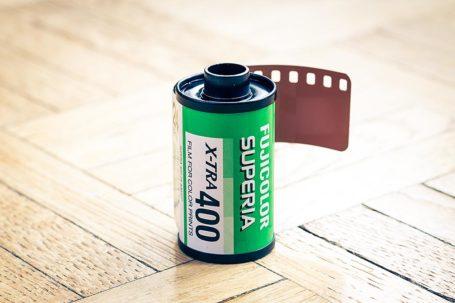 Film Fujicolor Superia X-tra 400 de Fujifilm